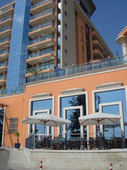 Hotel Astera Aussenansicht von der Strasse aus Hotel Astera