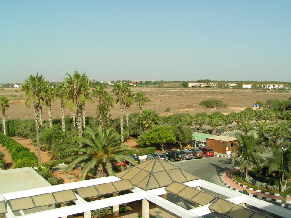 Ausblick aus dem Zimmer Dome Beach Hotel & Resort