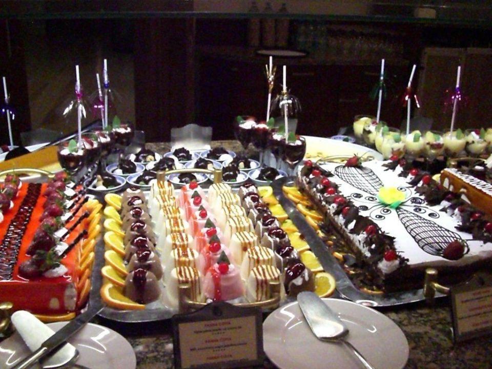 Abendbuffet,Desserts Hotel Side Star Elegance