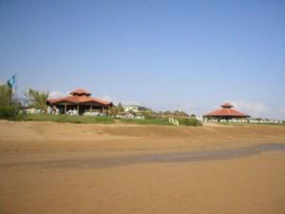 Stand mit Beachpavillions Hotel Süral Garden
