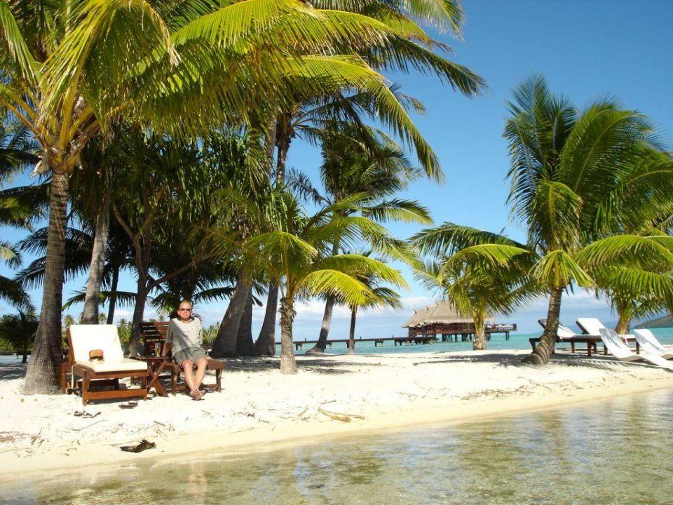 Wie eine Phototapete Hotel Vahine Island Resort