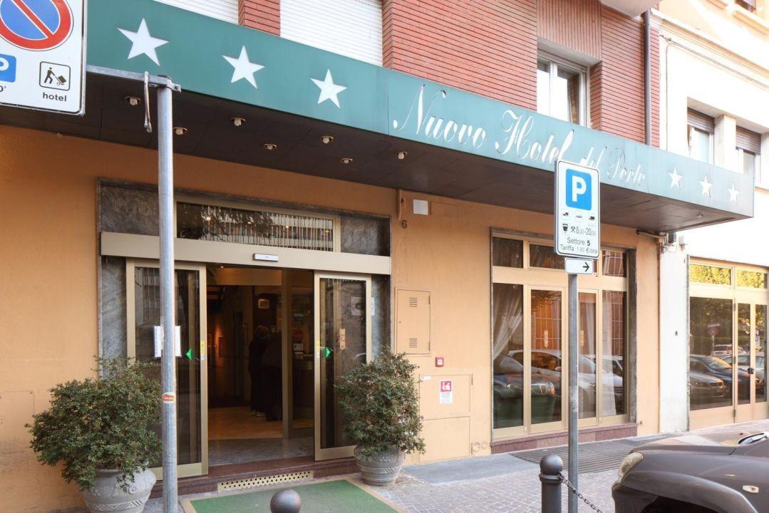 Entrata Nuovo Hotel Del Porto