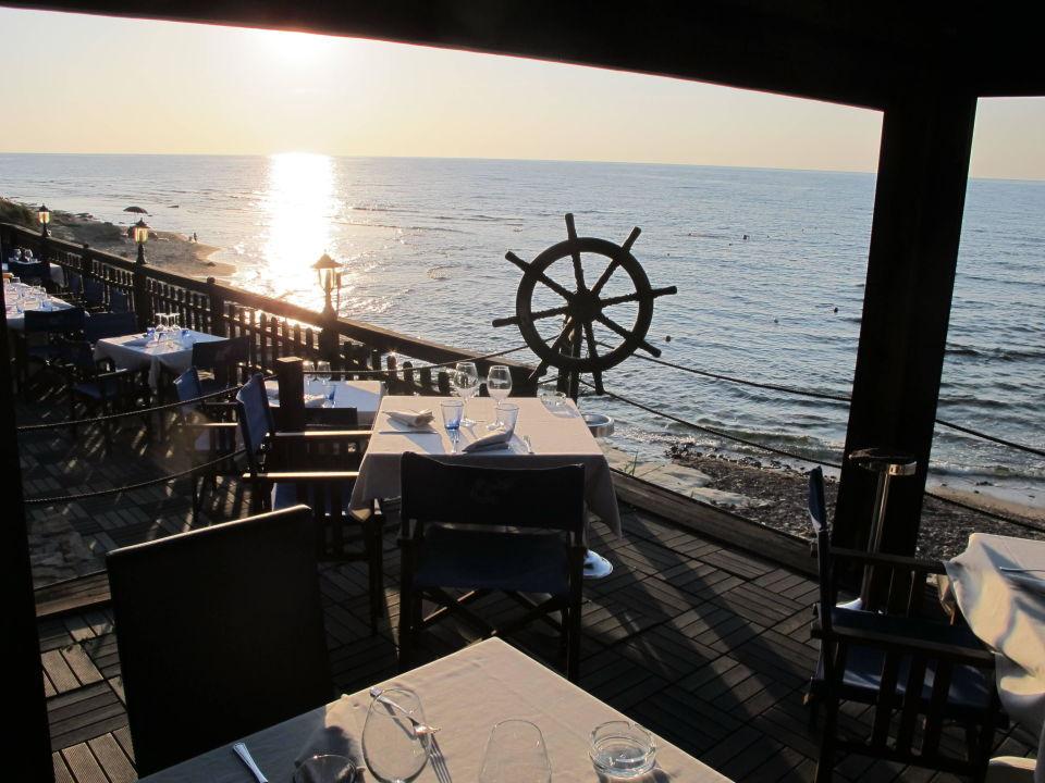 Blick aufs Meer  Hotel La Locanda del Mare