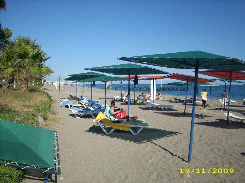 Der Hotel-Strand Kilikya Palace Göynük