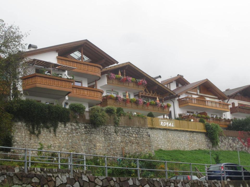 Außenansicht Pension Eichenhof / Appartements Royal