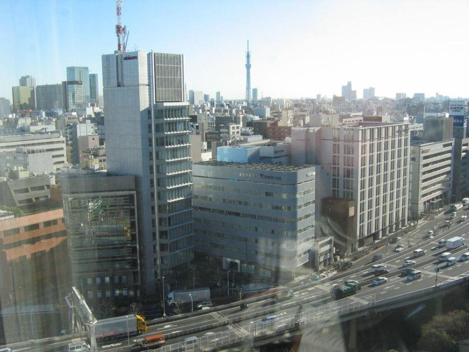 Ausblick KKR Hotel Tokyo