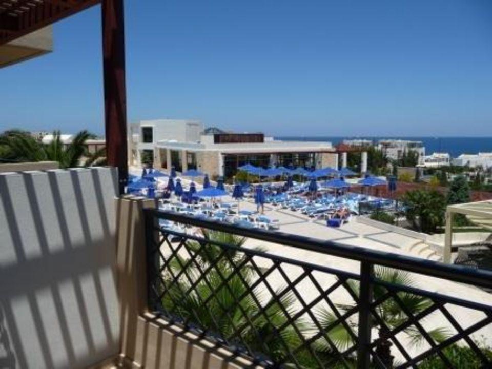 Ausblick aus dem Zimmer auf Ebene 1 Grand Hotel Holiday Resort