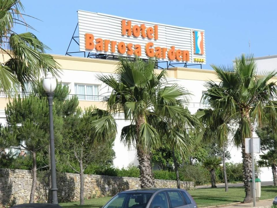 Vorderfront Hipotels Barrosa Garden