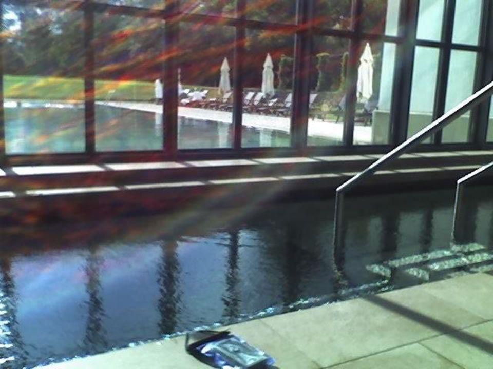 Blick Auf Den Pool Vom Spa Bereich Graflicher Park Hotel Spa Bad