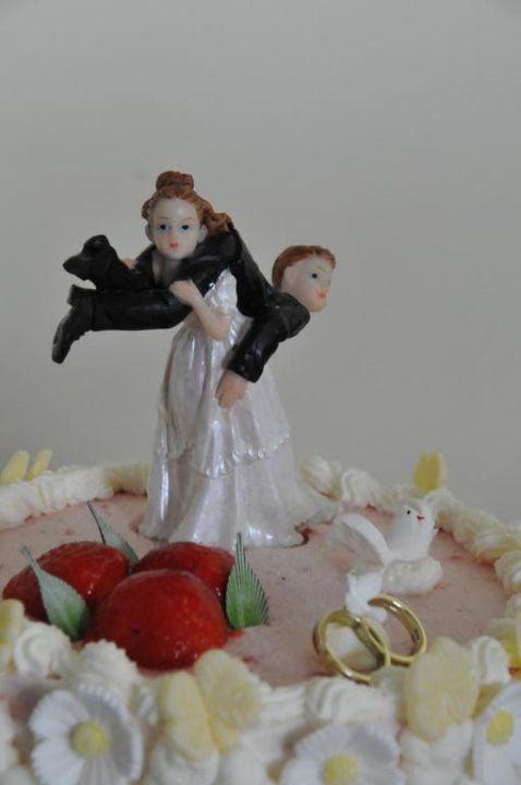 Hochzeitstortenfigur Akzent Berghotel Rosstrappe Thale