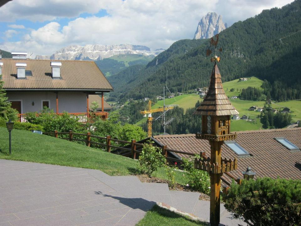 Blick von der Terrasse  Hotel Talblick