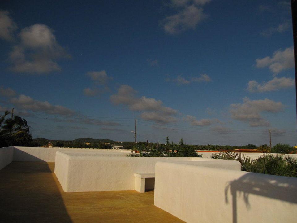 Dachterrasse Bonaire Fun Apartments