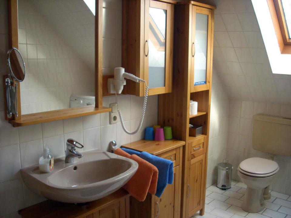 Badezimmer Ferienwohnung Aurich