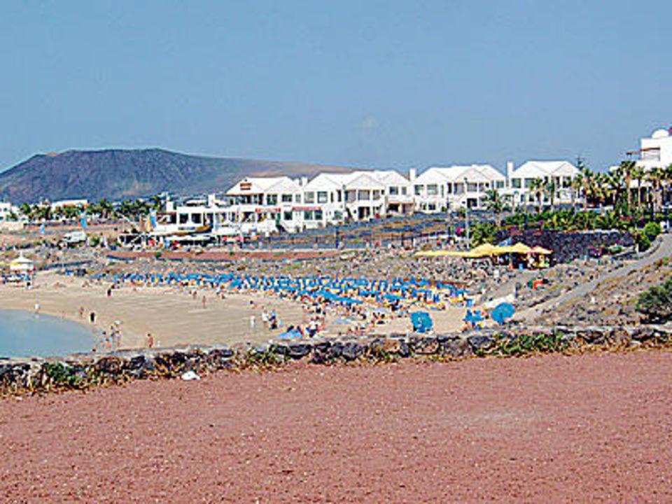 Der Strand Playa Dorada Hesperia Lanzarote Playa Dorada
