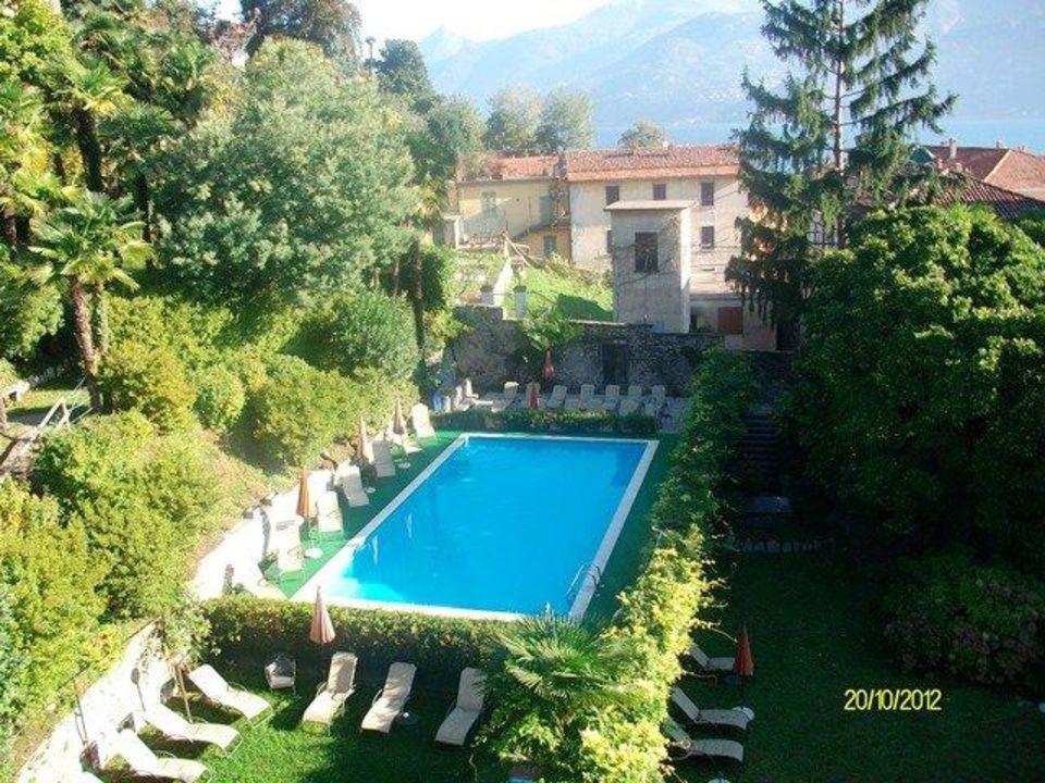 Der Pool Im Hinterhof Grand Hotel Cadenabbia Cadenabbia