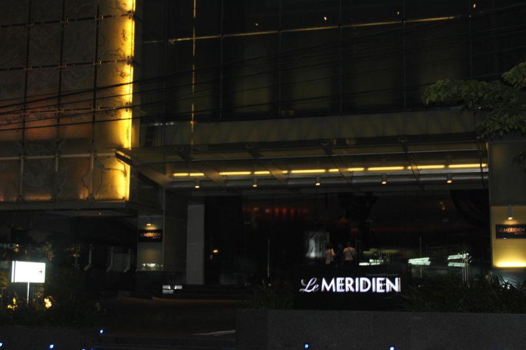 Eingangsbereich Hotel Le Meridien Bangkok