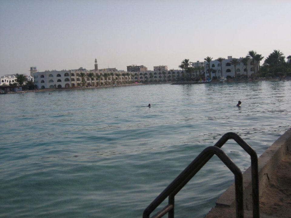 Blick vom Strand Arabia Azur  Resort