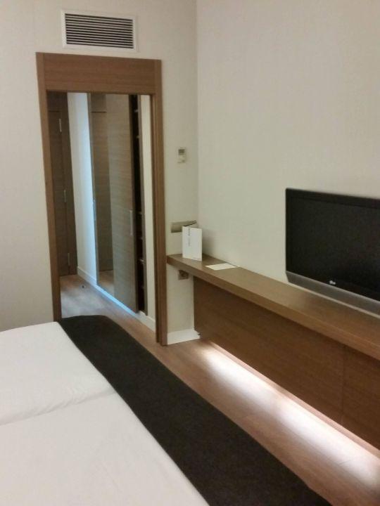 Zimmer Hotel Silken Zentro