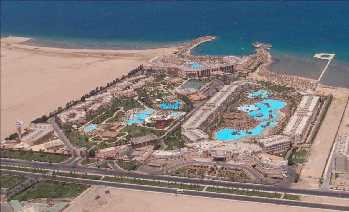 Flugaufnahme Beach Albatros Resort Hurghada Holidaycheck