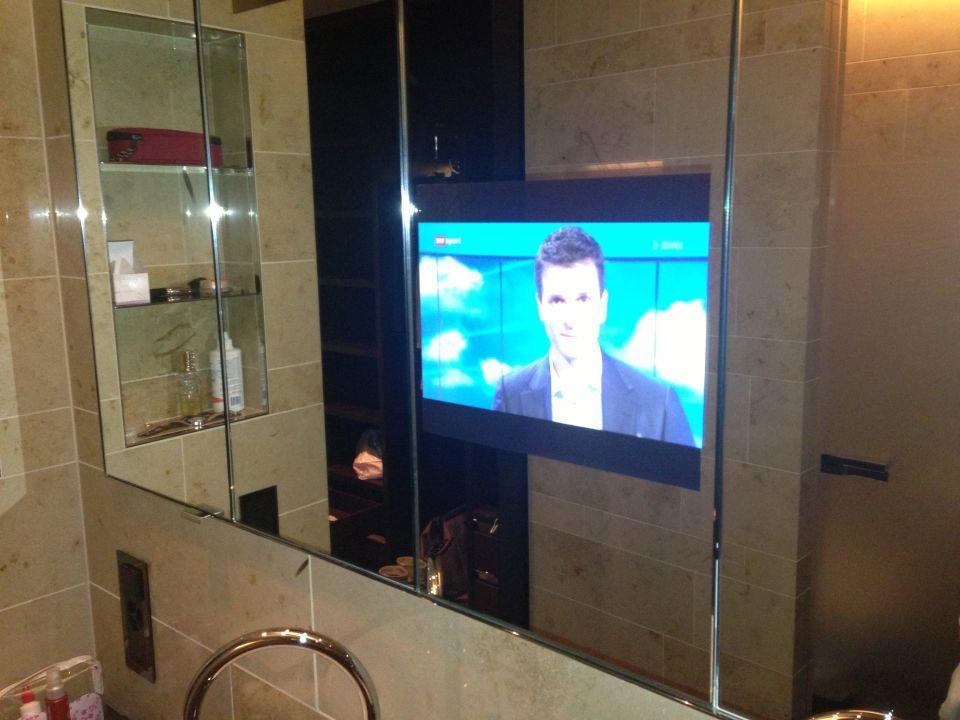 Badezimmerspiegel Mit Fernseher The Dolder Grand Zurich