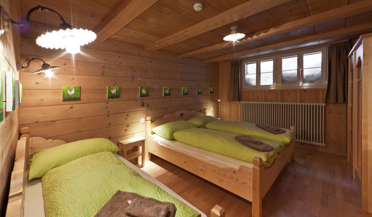3er-Zimmer Berghaus Jochpass