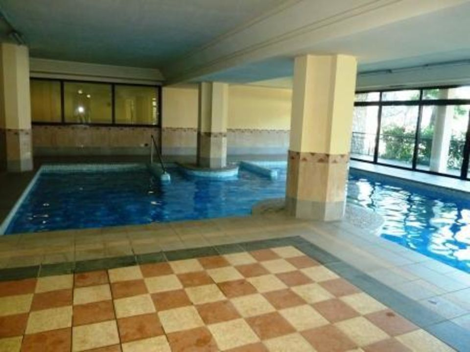 Doppelbett im Zimmer 304 Hotel Ilma