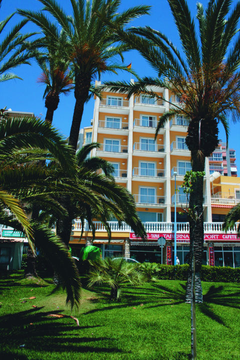Bild fachada zu hotel porto calpe in calp - Porto calpe hotel ...