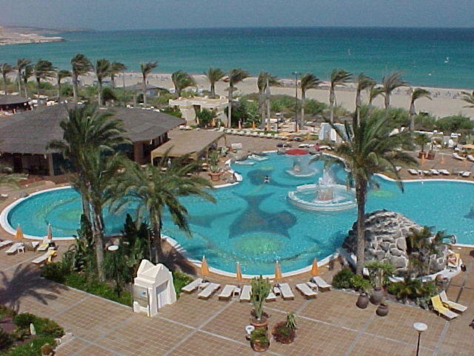 Der große Pool SBH Hotel Costa Calma Palace