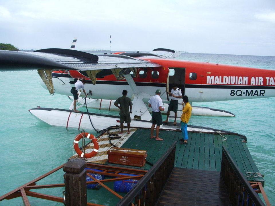 Wasserflugzeug Adaaran Select Meedhupparu Island Resort