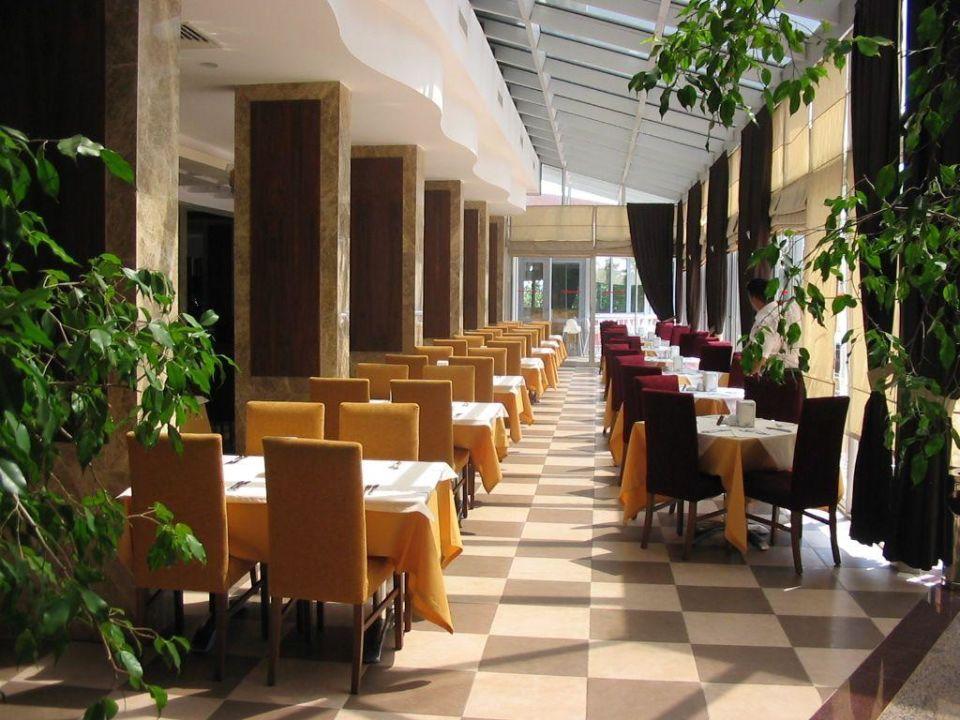 Teil des Restaurants im Hotel Hane Hane Hotel