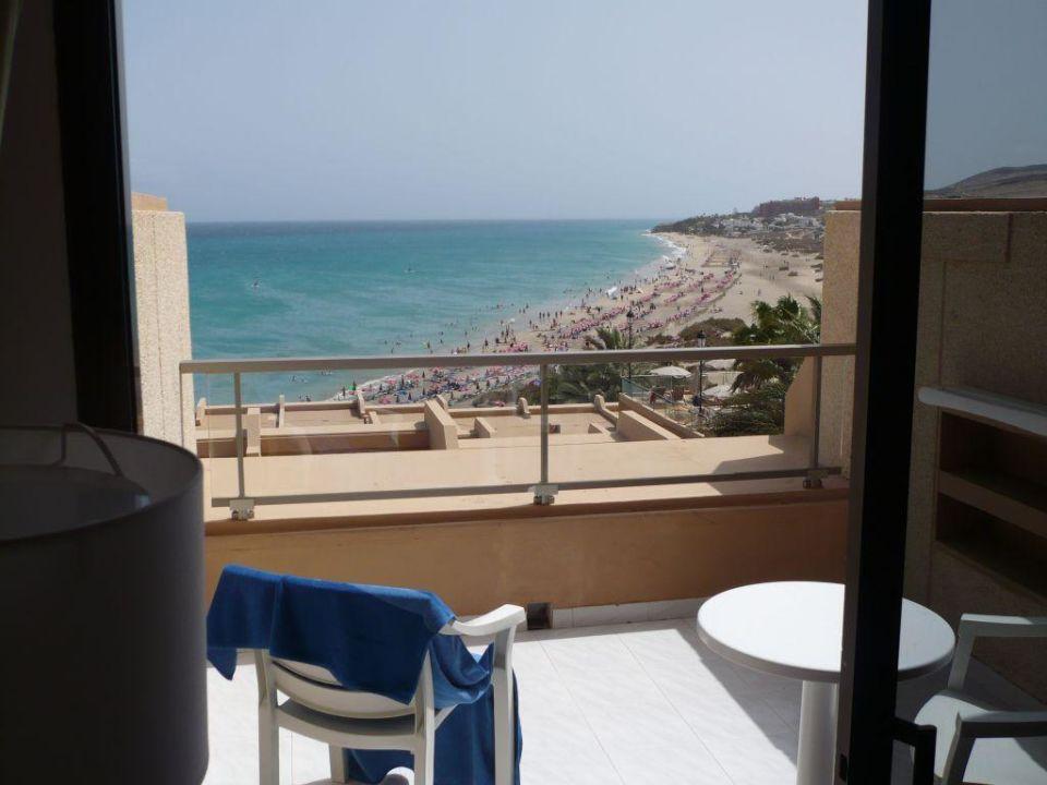 Ausblick von Zimmer Nr. 704 SBH Hotel Taro Beach
