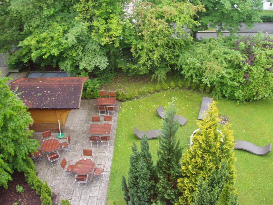 Die Schone Gartenanlage Des Hotels Bayern Vital Hotel Bayern Vital