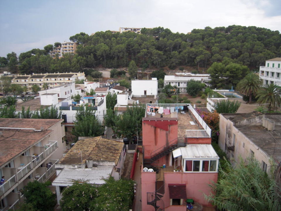 Vom Dach Hotel Tora