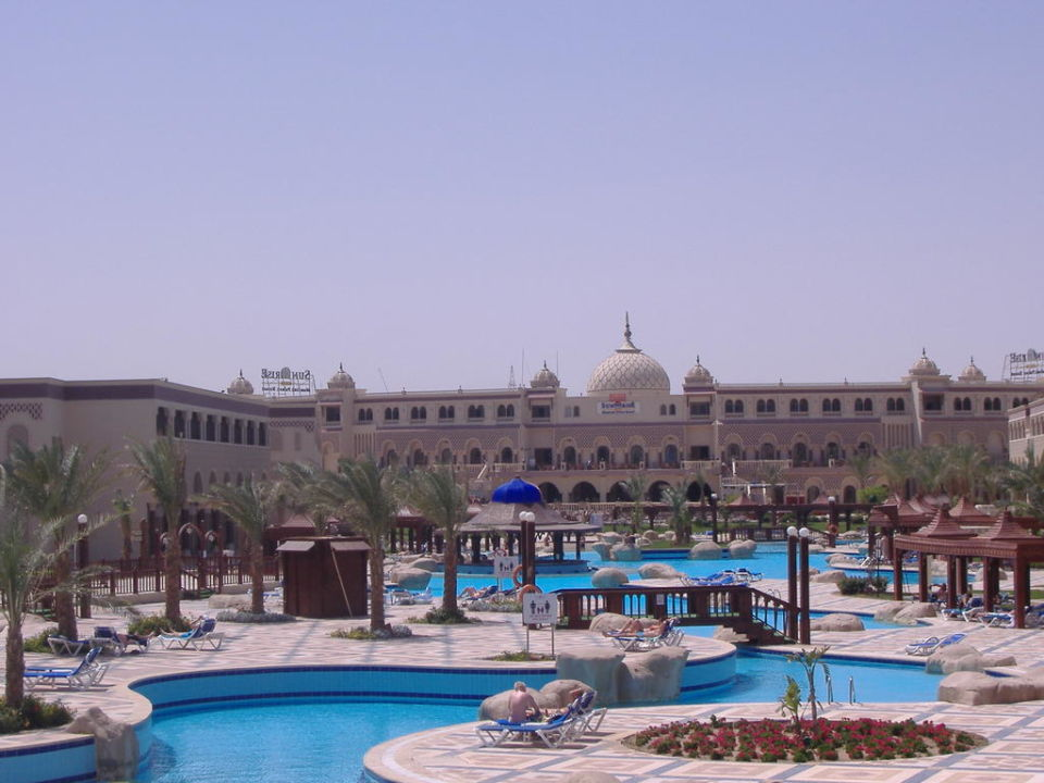 Hauptgebäude SENTIDO Mamlouk Palace Resort