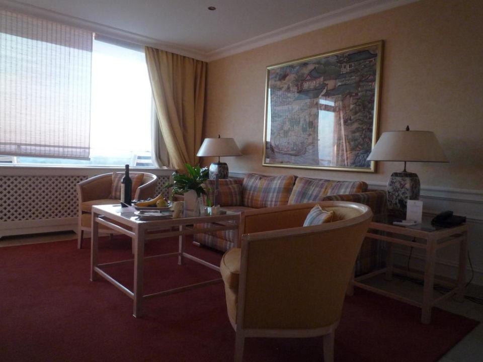 Wohnzimmer Suite Grand Hotel Seeschlösschen SPA & Golf Resort