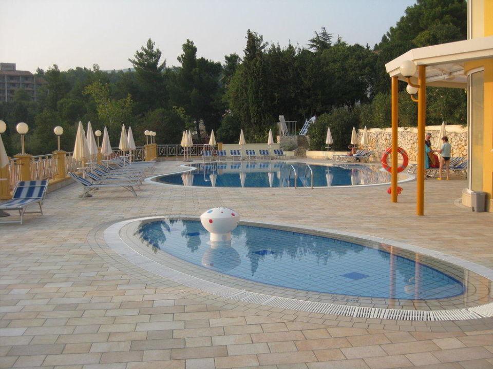 Schwimm- und Kinderpool Hotel & Casa Valamar Sanfior
