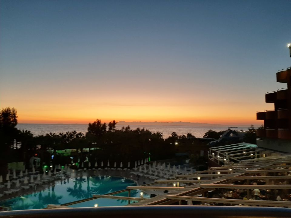 Ausblick Delphin Deluxe Resort