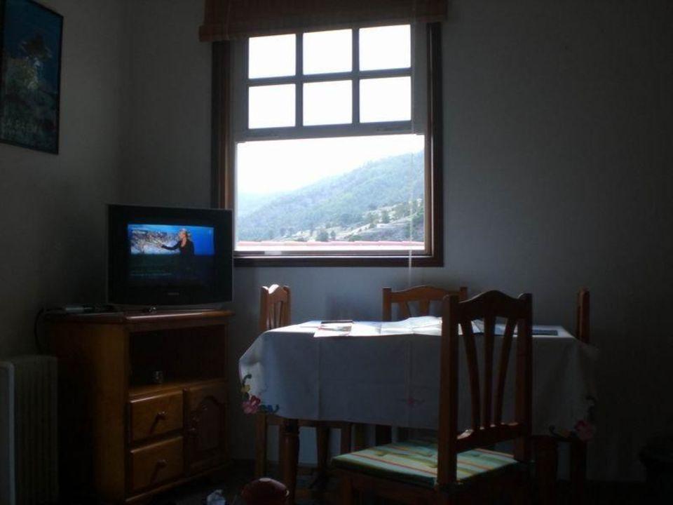 Ausblick auf Berge Hotel Piedra Verde