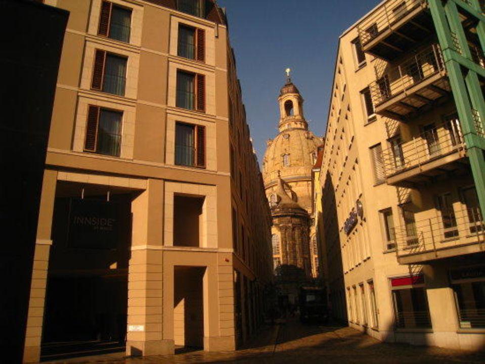 Direkt an der Frauenkirche  Innside Dresden