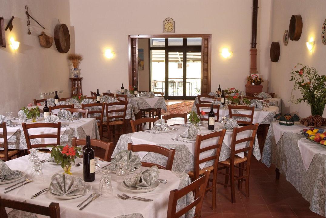 Sala ristorante Agriturismo Casalicchio