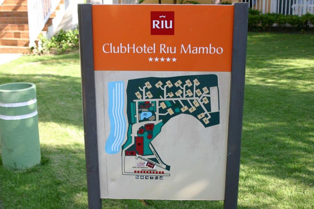 Die Anlage RIU Mambo Merengue Village