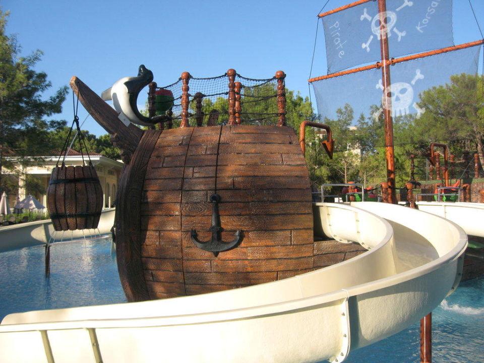 Piratenschiff Pool für Kinder Hotel Güral Premier Tekirova