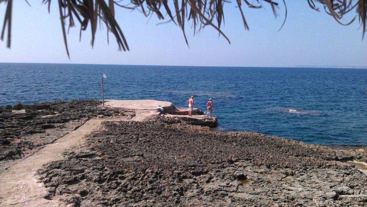 Liegestuhlaussicht Hotel Tres Playas