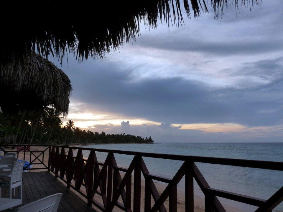 Ausblick vom Beachrestaurant Grand Bahia Principe El Portillo
