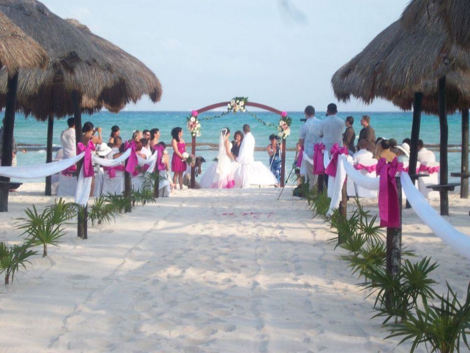Hochzeit Am Strand Sandos Caracol Eco Resort Playa Del Carmen