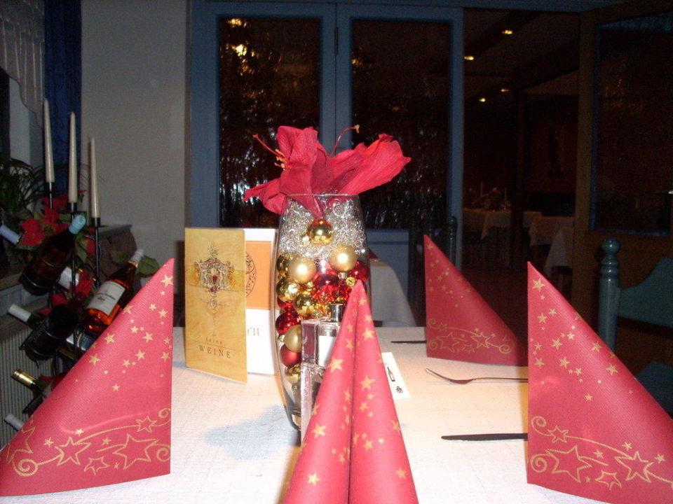 Tischdeko Hotel & Restaurant Nordstern