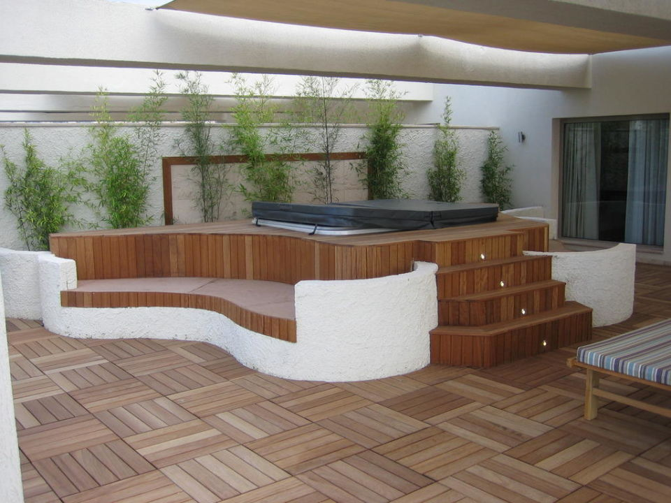 jacuzzi auf der terrasse paloma pasha resort zdere. Black Bedroom Furniture Sets. Home Design Ideas