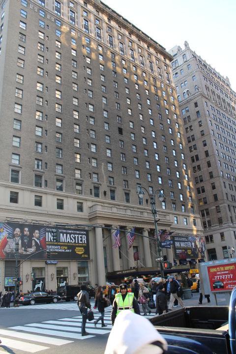 Blick Vom Madison Square Garden New York S Hotel Pennsylvania