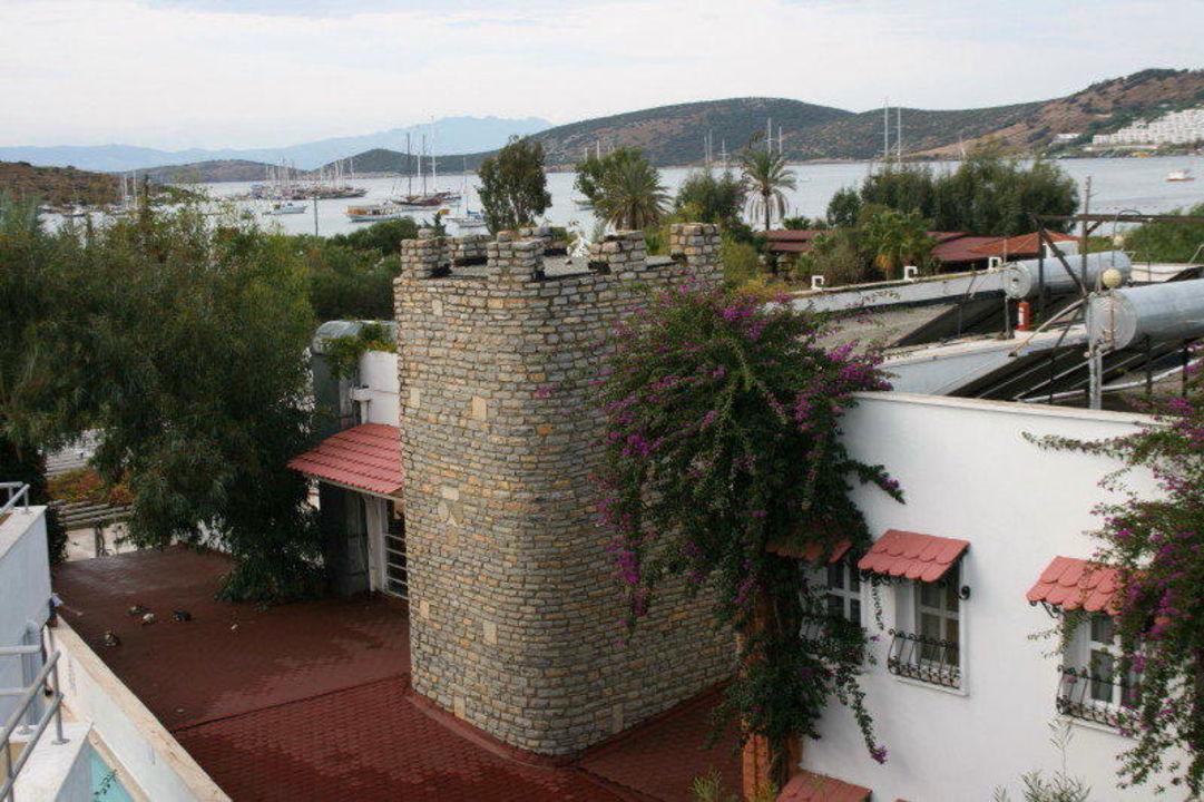Ausblick auf das Nachbarhotel Hotel Eken Resort