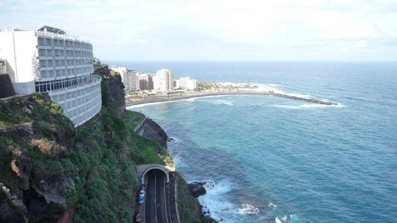 Blick Nach Osten Hotel Best Semiramis Puerto De La Cruz